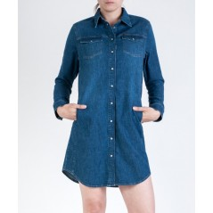 LEE SHIRT DRESS  VARENUMMER L50QKYOY