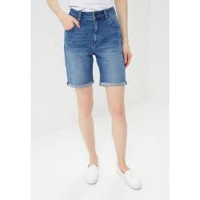 LEE LONG  BOYFRIEND SHORTS< LYSEBLÅ> VARENUMMER L37OAUVK