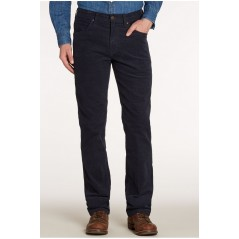 WRANGLER ARIZONA  STRETCH FLØJL NAVY VARENUMMER W12OEC114