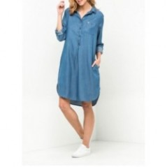 LEE SHIRT DRESS  VARENUMMER L50EHAKT